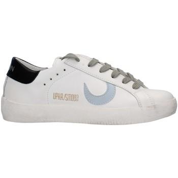 kengät Naiset Matalavartiset tennarit Uma Parker 780221 WHITE