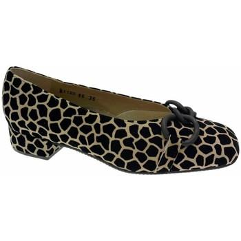 kengät Naiset Balleriinat Calzaturificio Loren LOA1120 nero