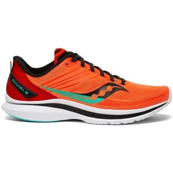 kengät Miehet Derby-kengät & Herrainkengät Saucony Kinvara 12 Oranssin väriset