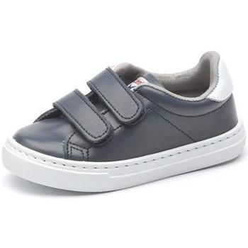kengät Tytöt Matalavartiset tennarit Cienta Chaussures fille  Deportivo Scractch Piel bleu marine