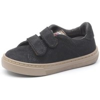 kengät Tytöt Tennarit Cienta Chaussures fille  Deportivo Velcro On Suede noir