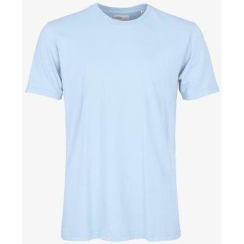 vaatteet Lyhythihainen t-paita Colorful Standard T-shirt  Polar Blue bleu pâle