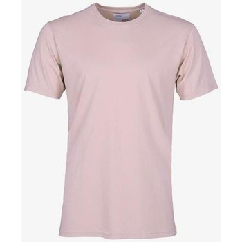 vaatteet Lyhythihainen t-paita Colorful Standard T-shirt  Faded Pink rose pale