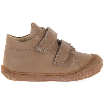 kengät Tytöt Bootsit Naturino FALCOTTO D08 COCOON VL NAPPA TAUPE Marrone