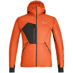 vaatteet Miehet Pusakka Salewa Pedroc Hybrid Twr M Hood Jkt Oranssin väriset
