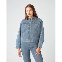 vaatteet Naiset Takit Wrangler Veste femme  Hickory bleu