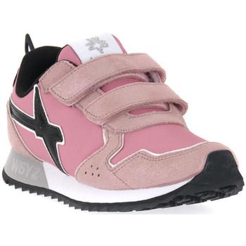 kengät Tytöt Tennarit W6yz 0M03 JET VL J GLITTER ROSE Rosa