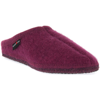 kengät Naiset Tossut Haflinger ALASKA MAULBEERE WALKSTOFF CALZ G Marrone