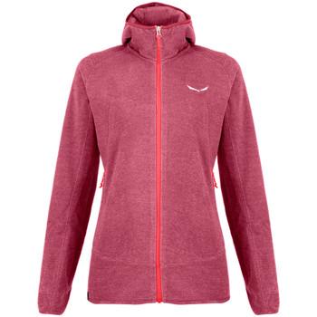 vaatteet Naiset Fleecet Salewa Nuvolo Pl W Jkt 27923-6579 pink