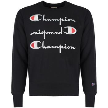 vaatteet Miehet Svetari Champion  Musta
