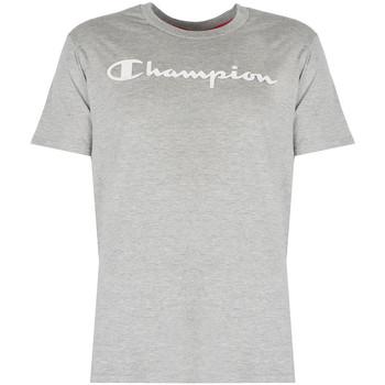 vaatteet Miehet Lyhythihainen t-paita Champion  Harmaa