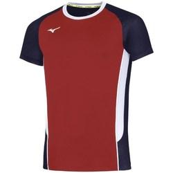 vaatteet Miehet Lyhythihainen t-paita Mizuno Premium High Kyu Mustat