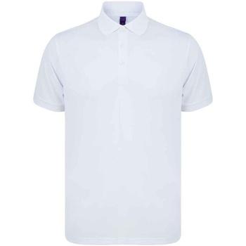 vaatteet Miehet Lyhythihainen poolopaita Henbury H465 White
