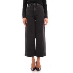vaatteet Naiset Suorat farkut Calvin Klein Jeans K20K203376 BLACK