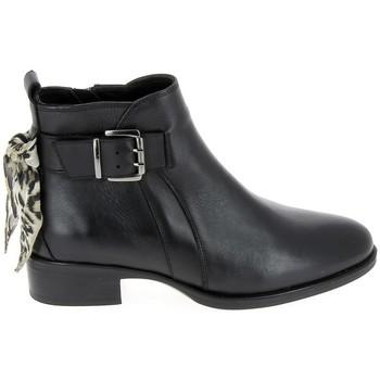 kengät Naiset Nilkkurit Goodstep Boots Estele Noir Musta