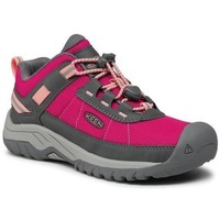 kengät Lapset Vaelluskengät Keen Targhee Sport Harmaat, Vaaleanpunaiset