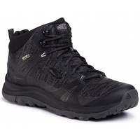 kengät Naiset Vaelluskengät Keen Terradora II Mid WP Mustat