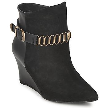 kengät Naiset Nilkkurit Pastelle ALINE Black