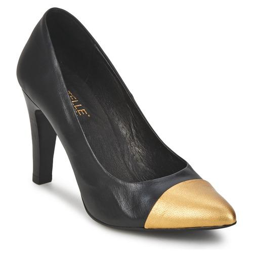 kengät Naiset Korkokengät Pastelle AMELINE Black
