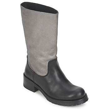 kengät Naiset Saappaat Pastelle PETULA Metalli-musta
