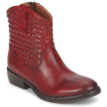 kengät Naiset Bootsit Pastelle ELSA Bordeaux
