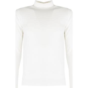 vaatteet Miehet T-paidat pitkillä hihoilla Xagon Man  Beige