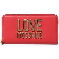 laukut Naiset Lompakot Love Moschino JC5611PP1DLJ050A Punainen