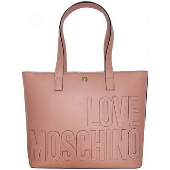 laukut Naiset Ostoslaukut Love Moschino JC4174PP1DLH0611 Vaaleanpunaiset