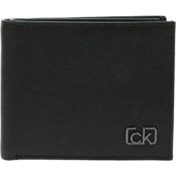 laukut Miehet Lompakot Calvin Klein Jeans Biflod 5CC W Coin Mustat