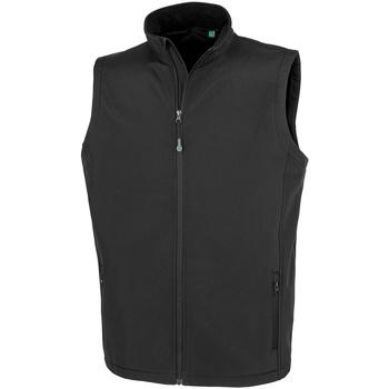 vaatteet Miehet Neuleet / Villatakit Result Genuine Recycled RS902M Black