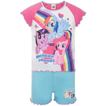 vaatteet Tytöt pyjamat / yöpaidat My Little Pony  Pink/Blue