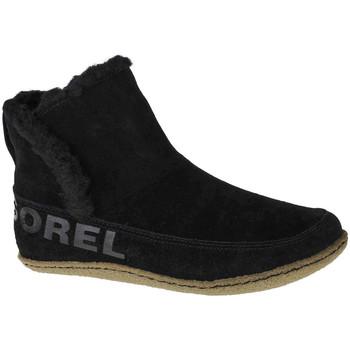 kengät Naiset Talvisaappaat Sorel Nakiska Bootie Noir