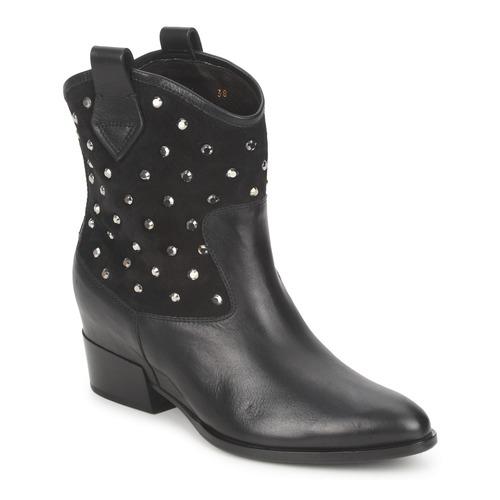 kengät Naiset Bootsit Alberto Gozzi GIANNA Black