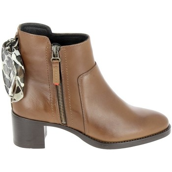 kengät Saappaat Goodstep Boots Manas Cognac Ruskea