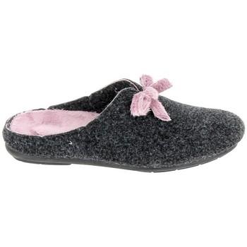 kengät Tossut Fargeot Edna Gris Fonce Harmaa