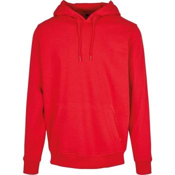 vaatteet Miehet Svetari Build Your Brand BY011 Red