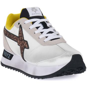 kengät Naiset Matalavartiset tennarit W6yz 0N01 KIS W Bianco