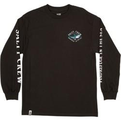 vaatteet Miehet T-paidat pitkillä hihoilla Salty Crew T-shirt à manches longues  Deadeye Standard noir