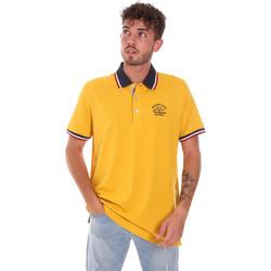 vaatteet Miehet Lyhythihainen poolopaita Key Up 2G89R 0001 Keltainen