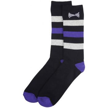 Asusteet / tarvikkeet Miehet Sukat Independent Span stripe socks Musta