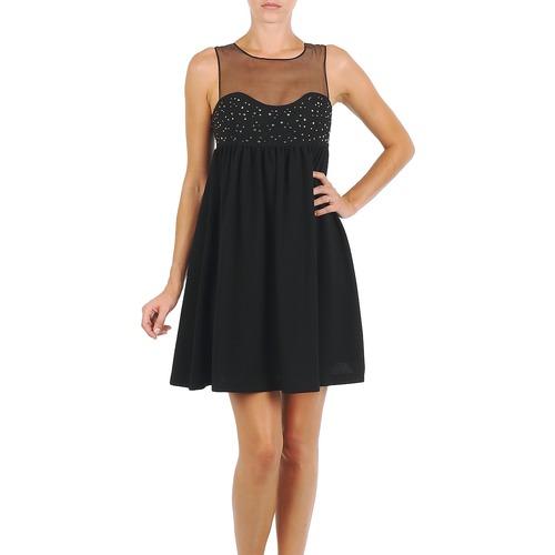 vaatteet Naiset Lyhyt mekko Manoush ROBE ETINCELLE Black