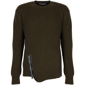 vaatteet Miehet Neulepusero Les Hommes  Vihreä