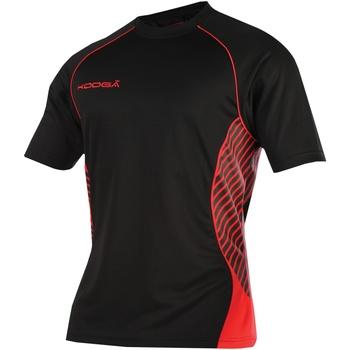 vaatteet Naiset Lyhythihainen t-paita Kooga K108B Black/Red