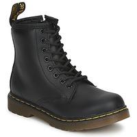 kengät Lapset Bootsit Dr Martens DM J BOOT Musta