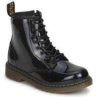 kengät Lapset Bootsit Dr Martens DELANEY Black