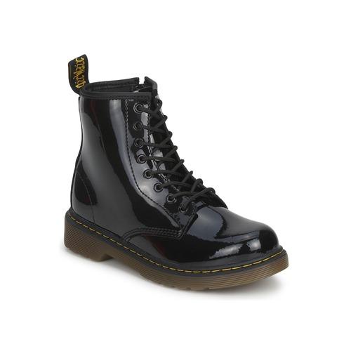 kengät Tytöt Bootsit Dr Martens DELANEY Black
