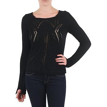 vaatteet Naiset Neulepusero Antik Batik LACE Black