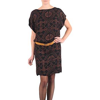 vaatteet Naiset Lyhyt mekko Antik Batik QUINN Black