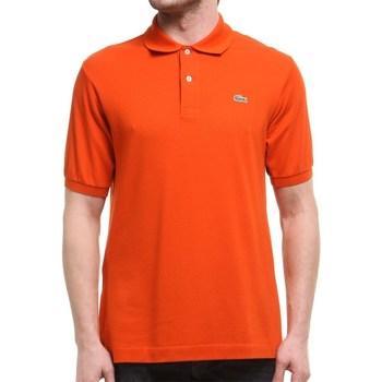 vaatteet Miehet Lyhythihainen poolopaita Lacoste L1212WU9 Oranssin väriset