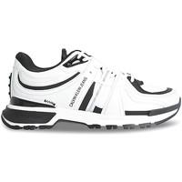 kengät Naiset Matalavartiset tennarit Calvin Klein Jeans YW0YW00376 Valkoinen